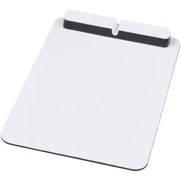 """Alfombrilla para ratón con hub USB """"Cache"""" - Blanco"""