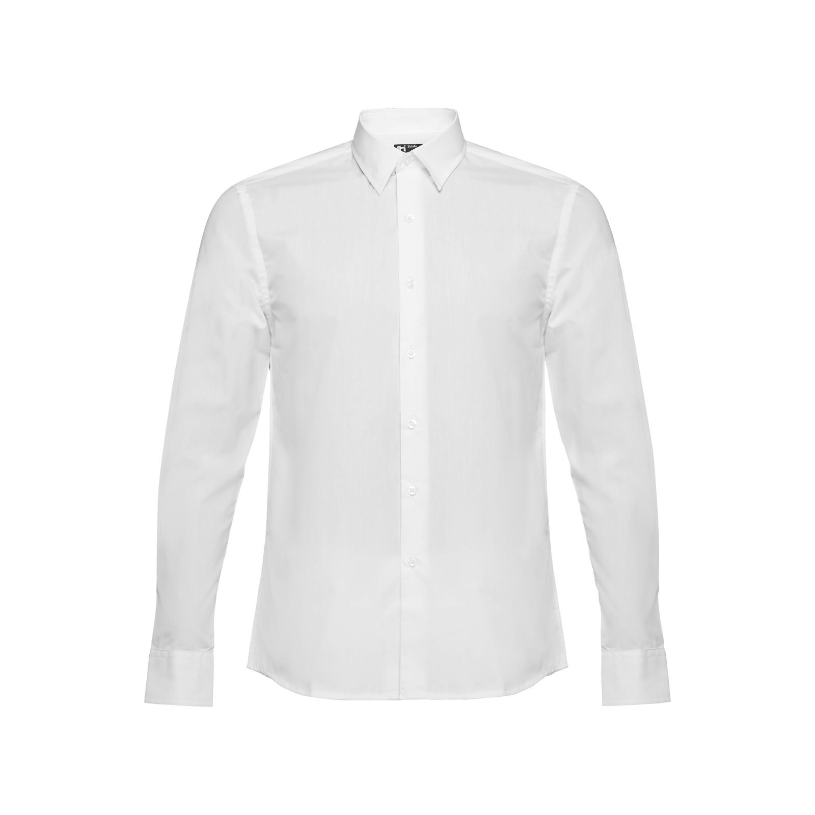 THC BATALHA WH. Pánská popelínová košile - Bílá / S