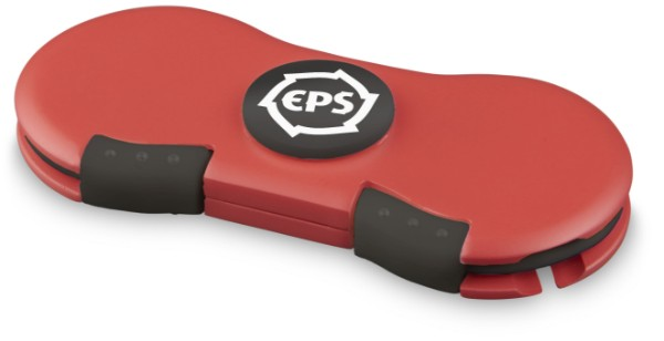 Spinner s napájecím kabelem - Červená s efektem námrazy