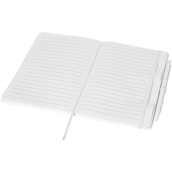 Zápisník Prime střední velikosti s perem - Bílá