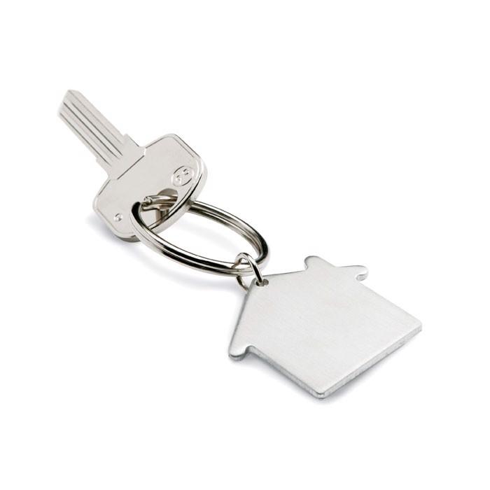 Kovinski obesek za ključe v obliki hiške Heim