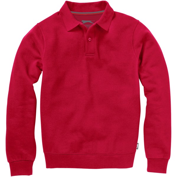 Referee polo sweater - Red / XL