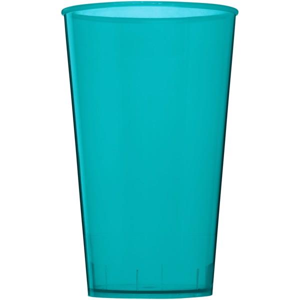 Plastový kelímek Arena 375 ml - Průhledná aqua blue