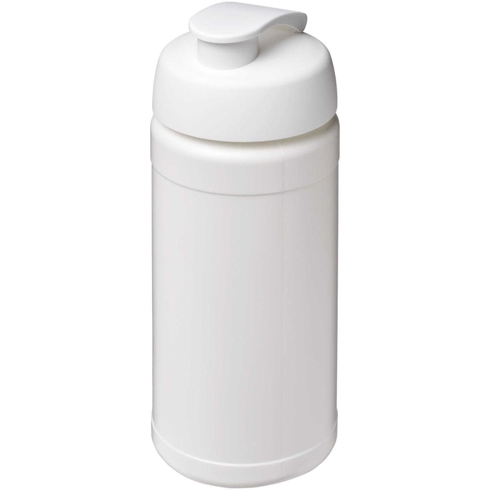 Baseline® Plus 500 ml flip lid sport bottle - White