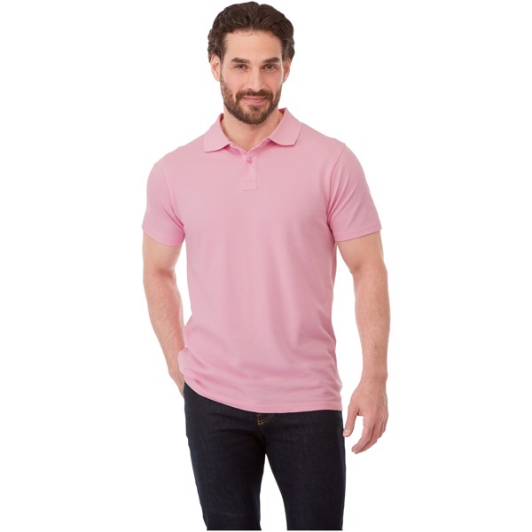 Polo manches courtes homme Helios - Vert forêt / XXL