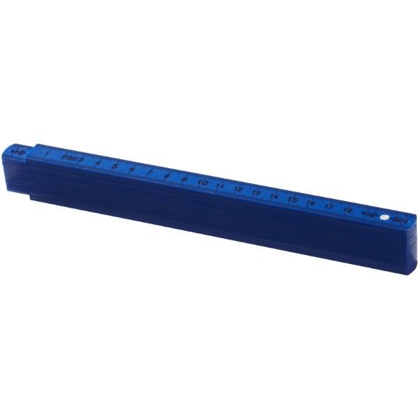 Skládací metr Monty, 2 m - Světle modrá