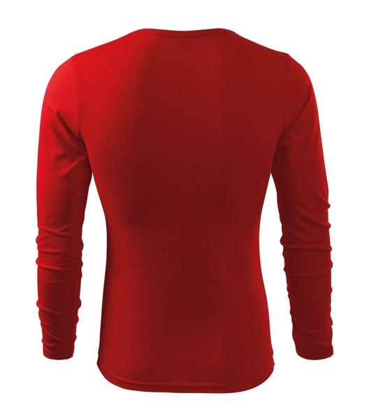 T-shirt men's Malfini Fit-T LS - Red / 2XL
