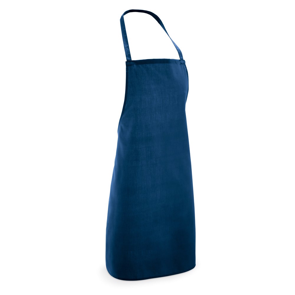 CURRY. Apron in cotton and polyester - Blue