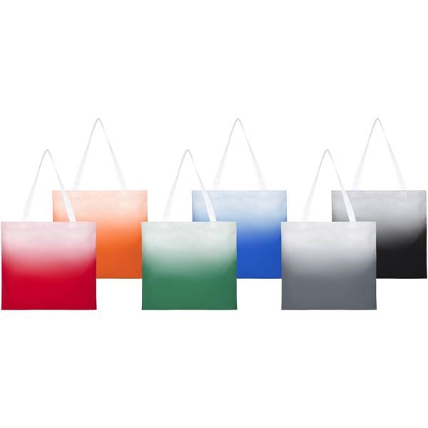 Rio nákupní taška s barevným přechodem - Šedá