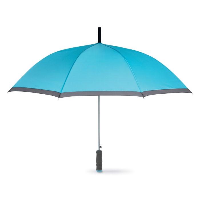 Parasol z rączką EVA Cardiff - turkusowy