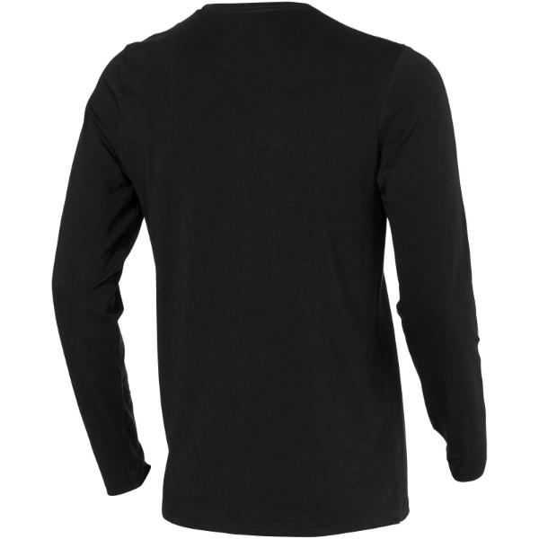 Ponoka Langarmshirt für Herren - Schwarz / M