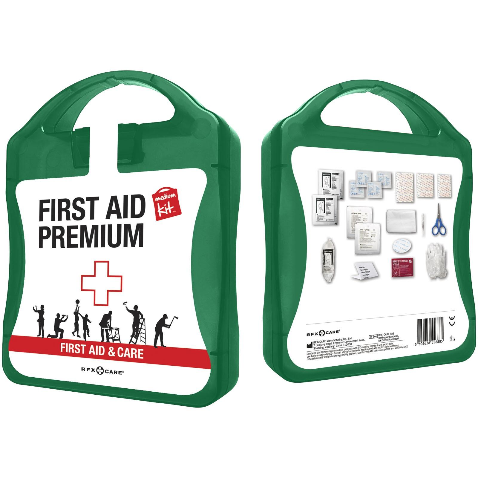 Sada první pomoci Premium - Zelená