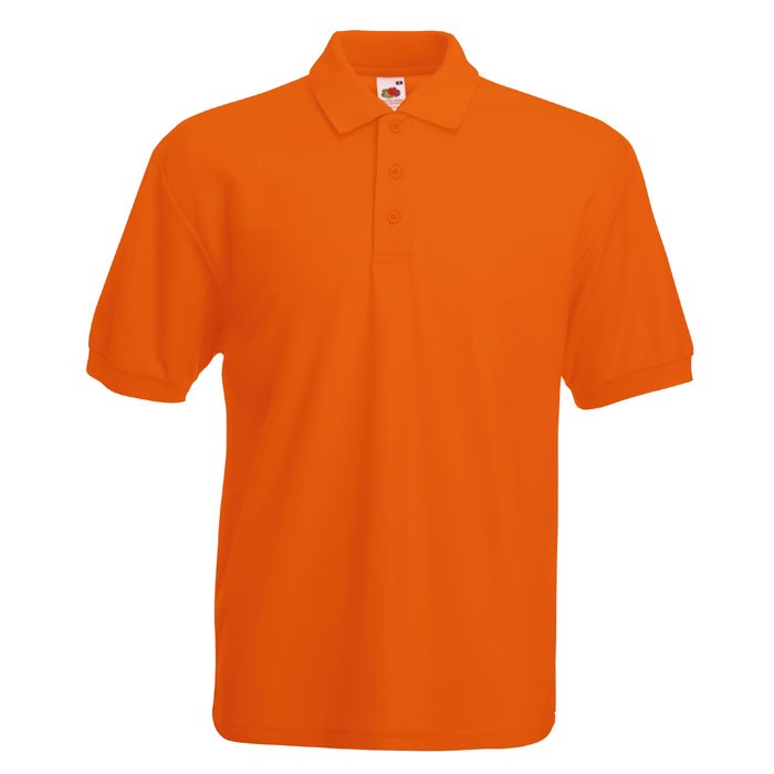 Polokošile piqué 65/35 Blended Polo 63-402-0 - Orange / M