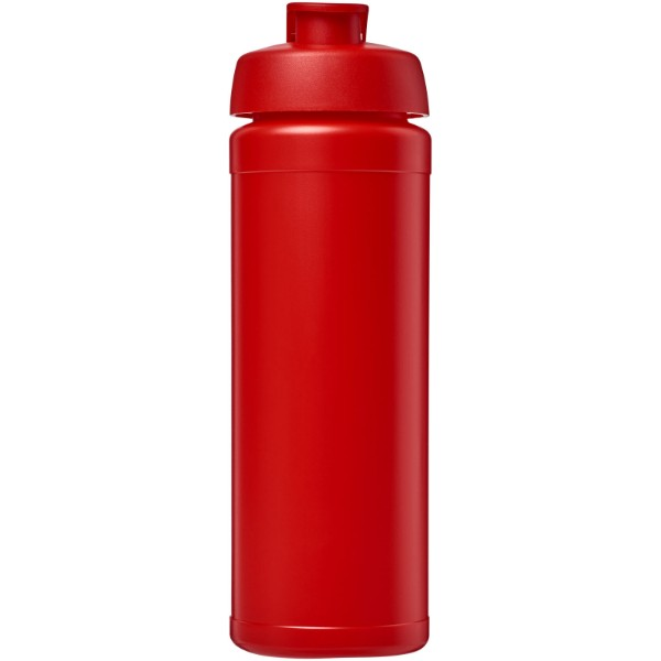 Sportovní láhev s vyklápěcím víčkem Baseline® Plus grip 750 ml - Červená s efektem námrazy