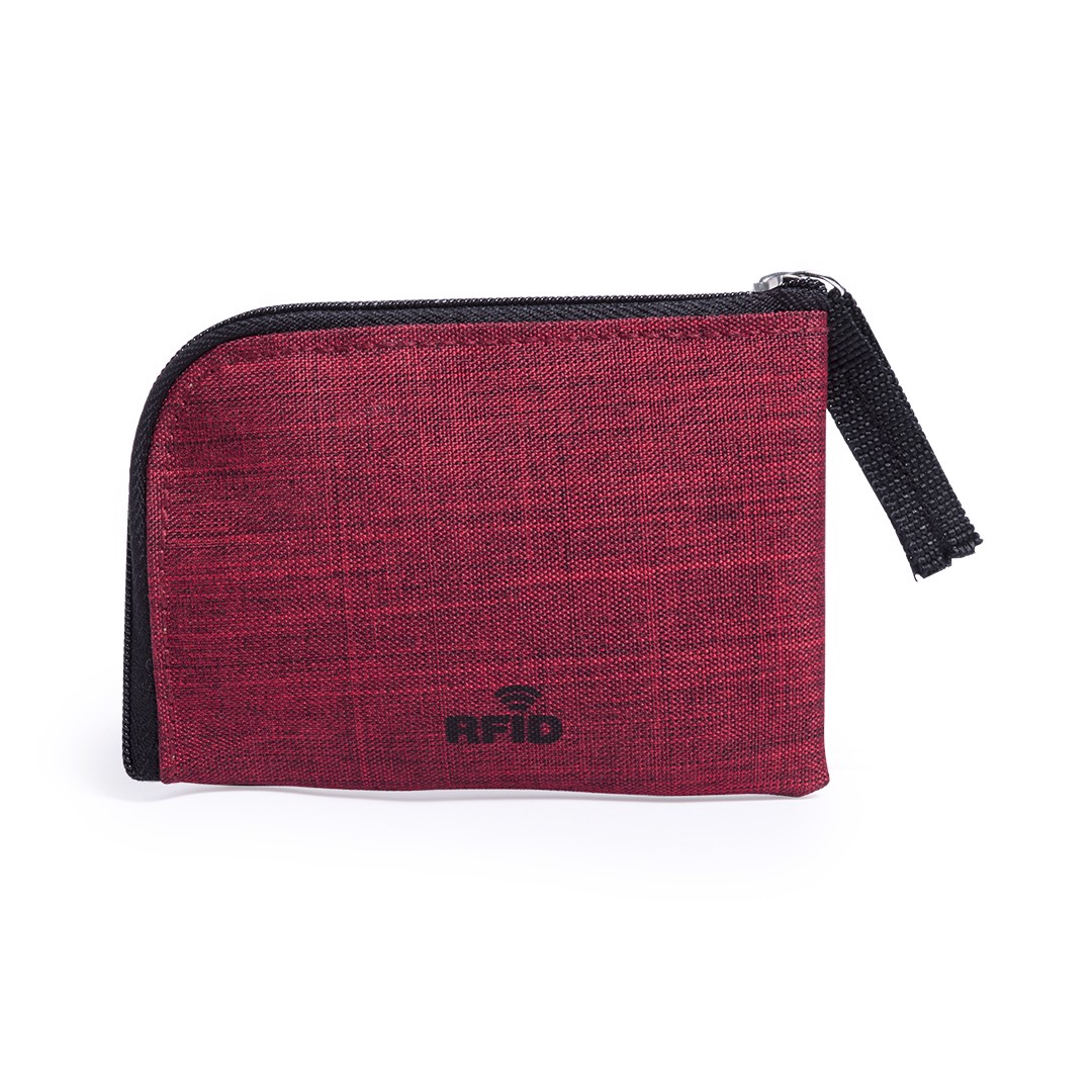 Purse and Card Holder Vatien - Red