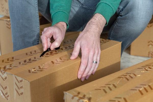 Kapesní nůž na balíky
