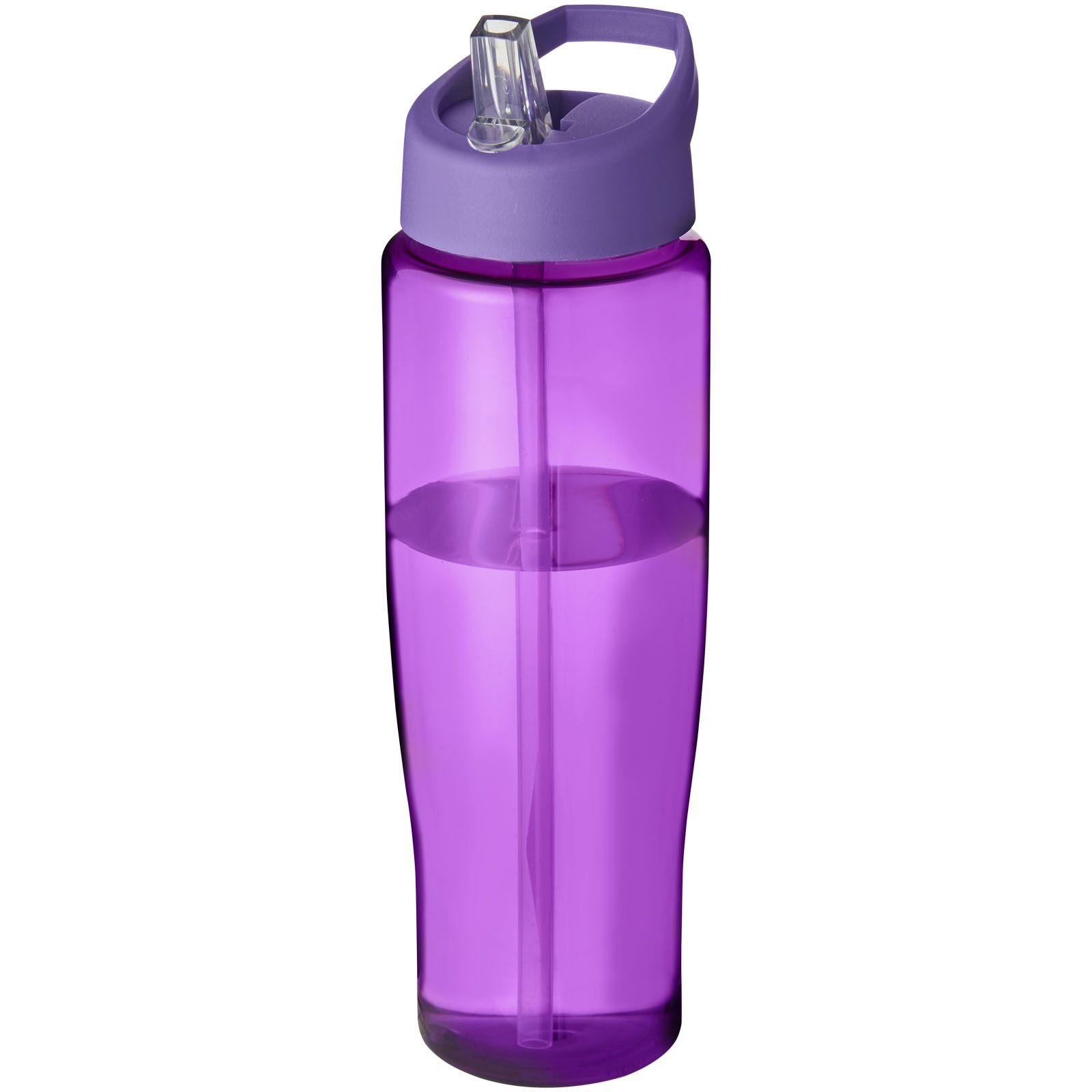 Sportovní láhev s víčkem s hubičkou H2O Tempo® 700 ml - Purpurová