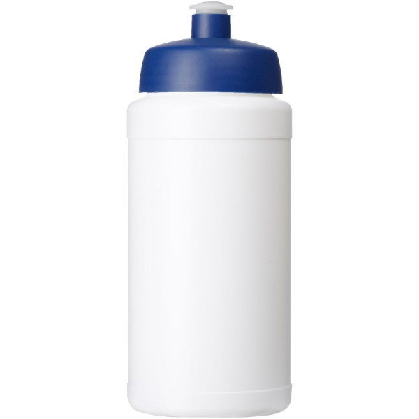 Baseline® Plus 500 ml bottle with sports lid - White / Blue