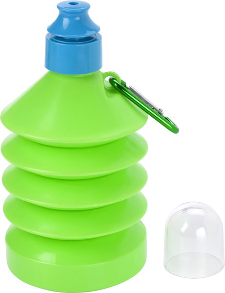 PE and PS bottle - Light Green