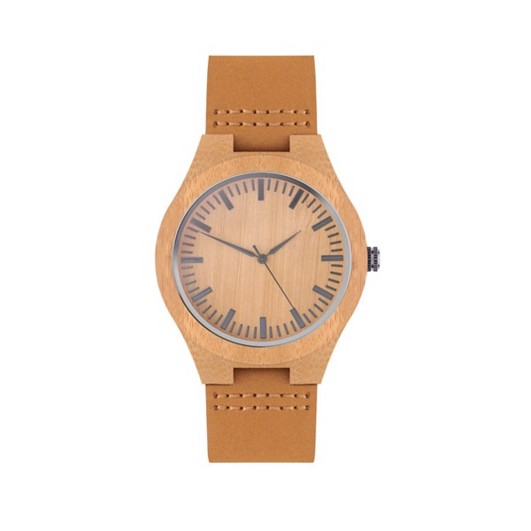 Leather watch Sion