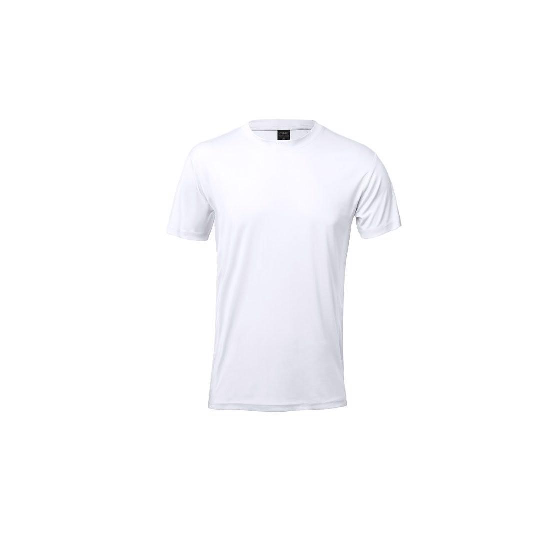 Camiseta Adulto Tecnic Layom - Blanco / M