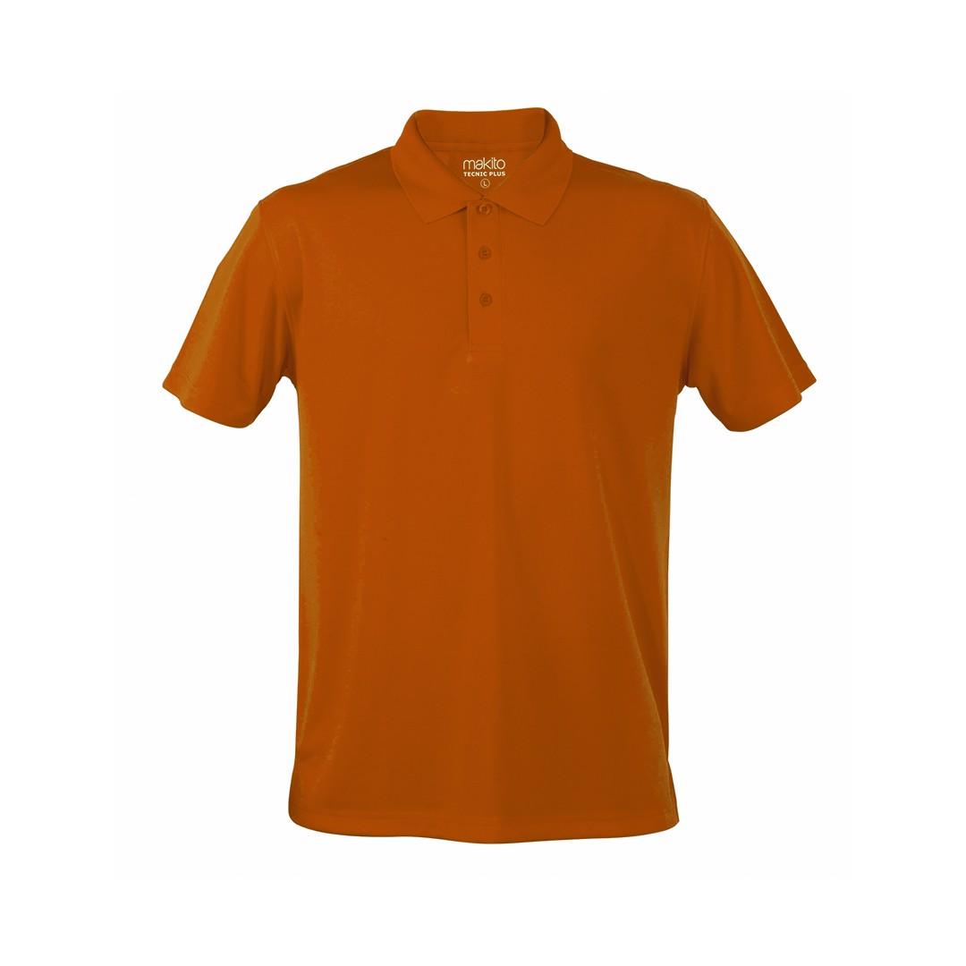 Polo Tecnic Plus - Naranja / S