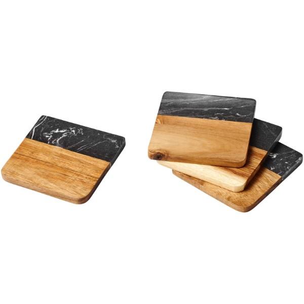 Tácky Harlow ze dřeva a mramoru