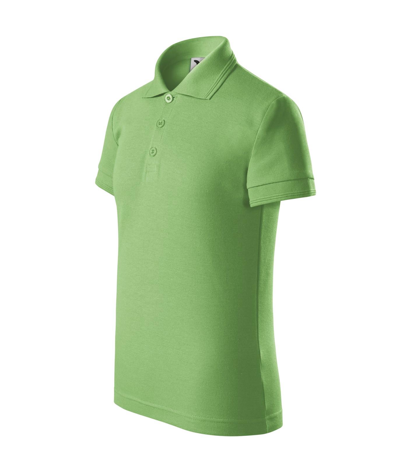 Polo Shirt Kids Malfini Pique Polo - Grass Green / 8 years