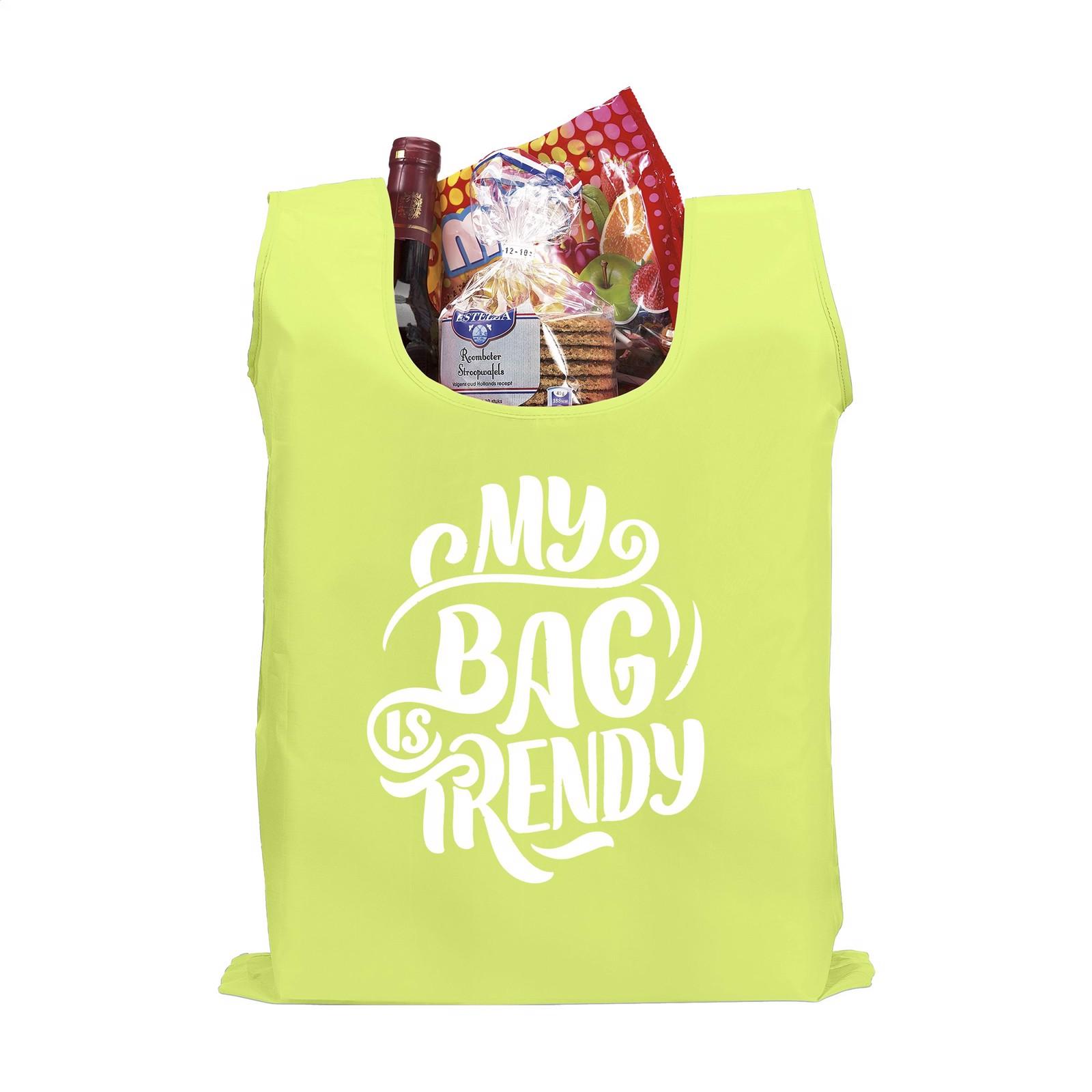 ShopEasy foldable shoppingbag - Fluorescent Yellow