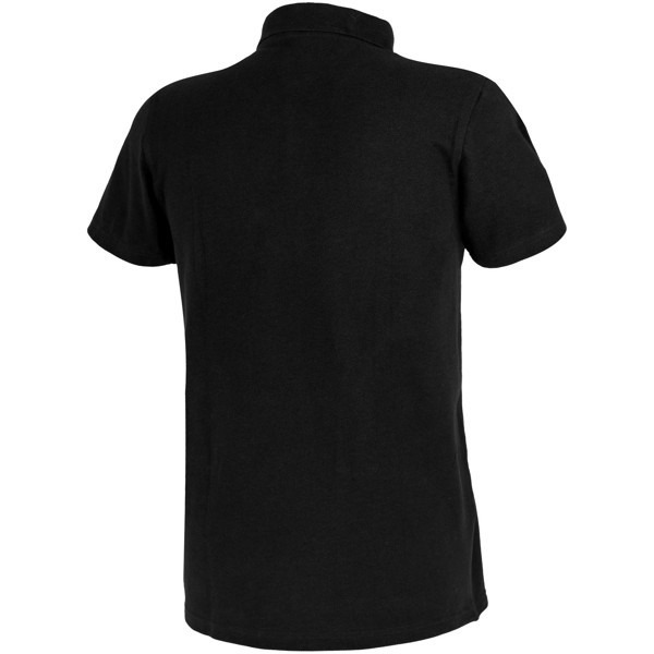 Primus short sleeve men's polo - Solid black / XS
