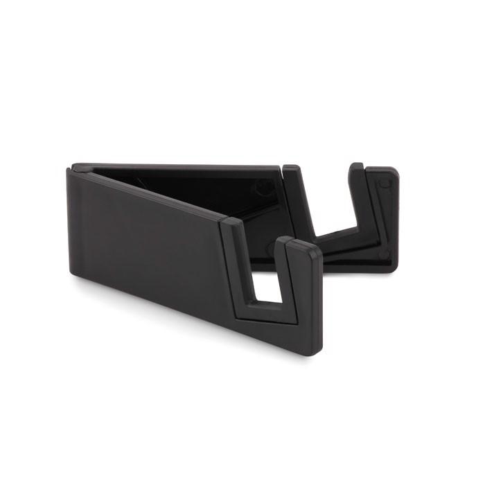 Phone holder bamboo fibre/PP Standol+ - Black
