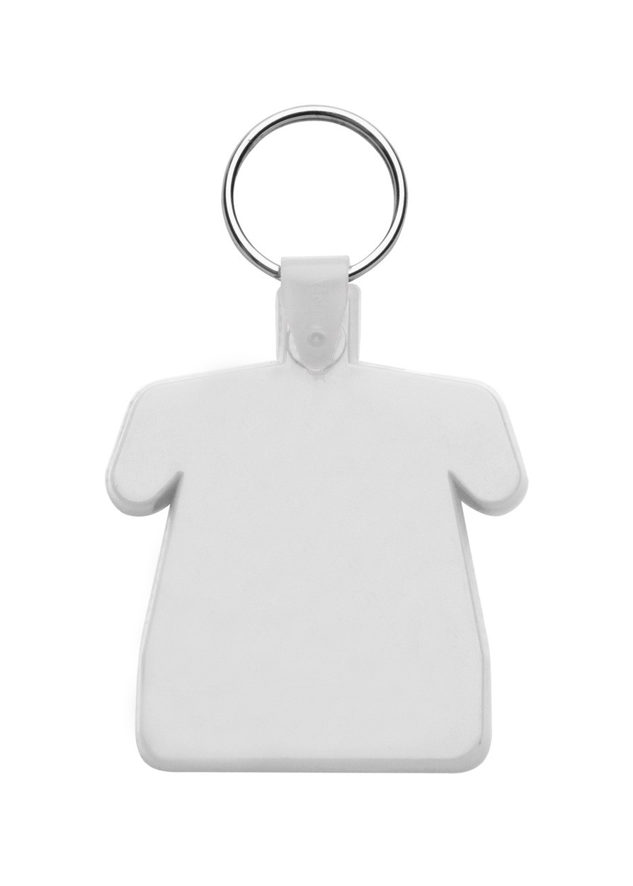 Keyring Polo - White