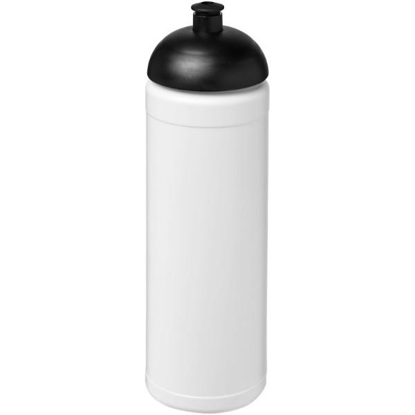 Sportovní láhev s kupolovitým víčkem Baseline® Plus 750 ml - Bílá / Černá