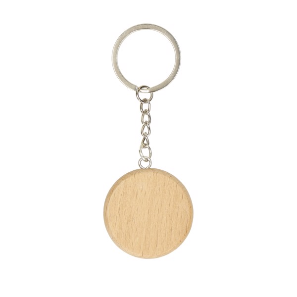 """Key Ring """"Natura"""", Round"""