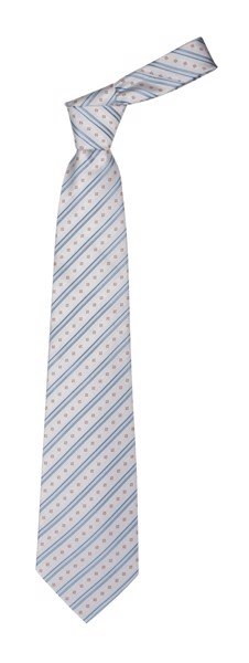 Necktie LANES - White