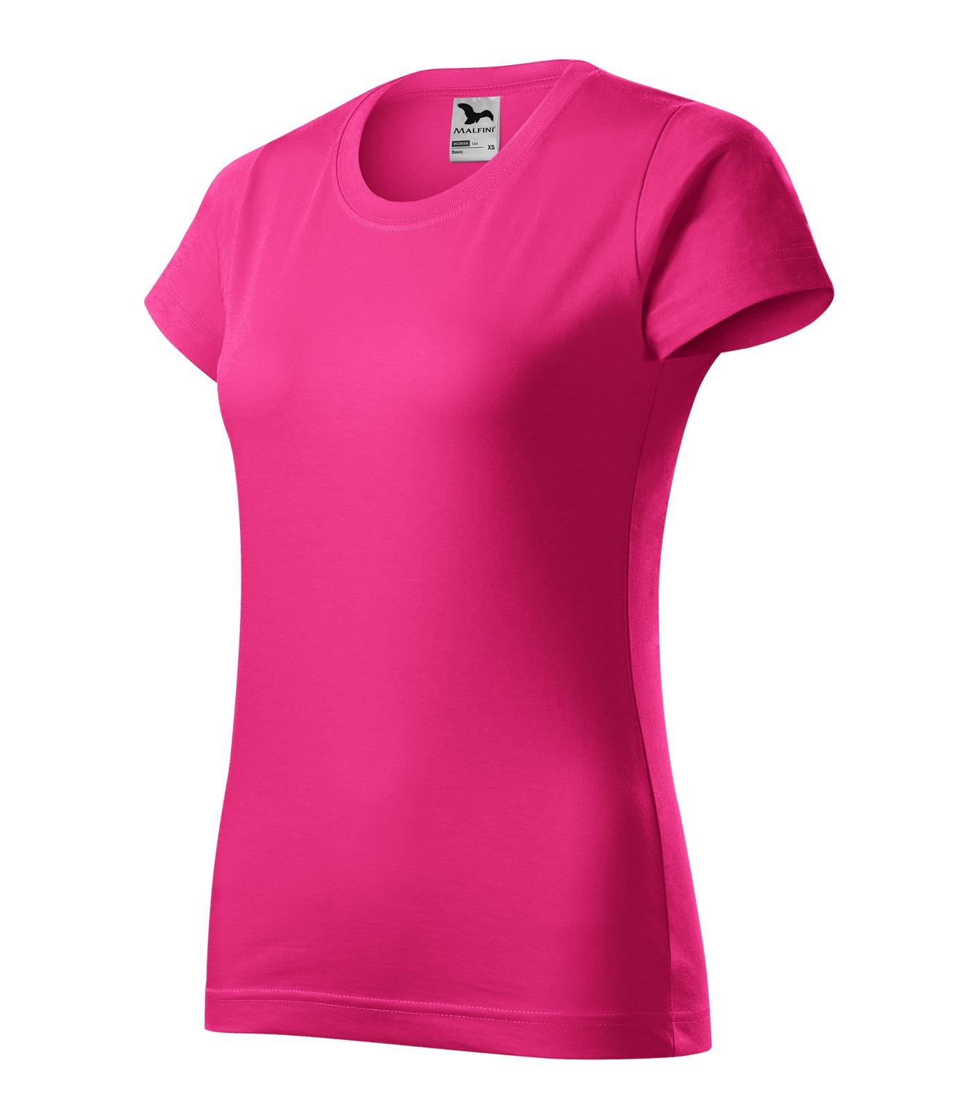 Tričko dámské Malfini Basic - Purpurová / M