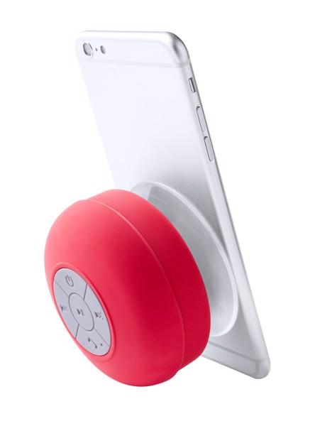 Vodotěsný Bluetooth Reproduktor Rariax - Červená / Bílá