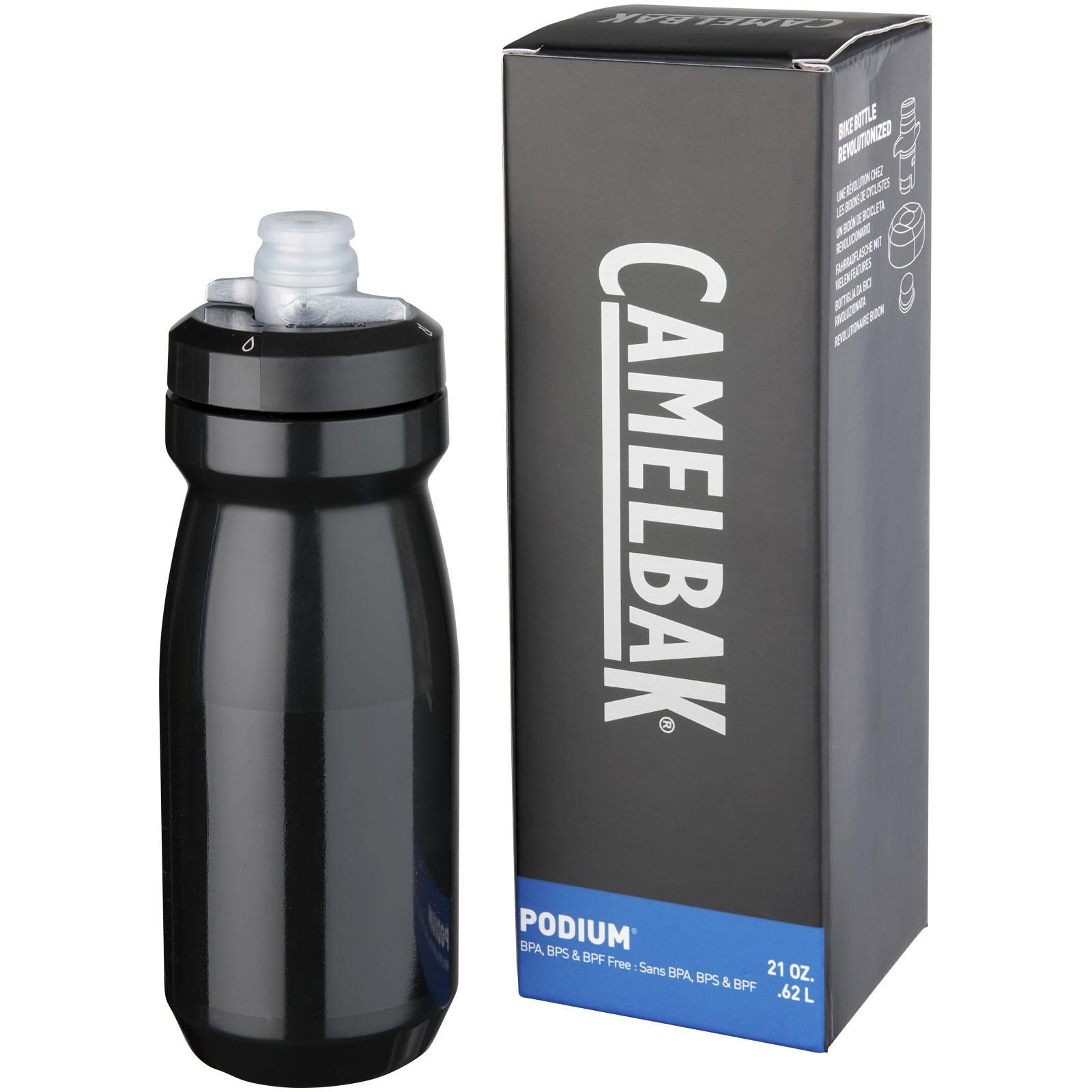 Sportovní láhev Podium 620 ml - Černá