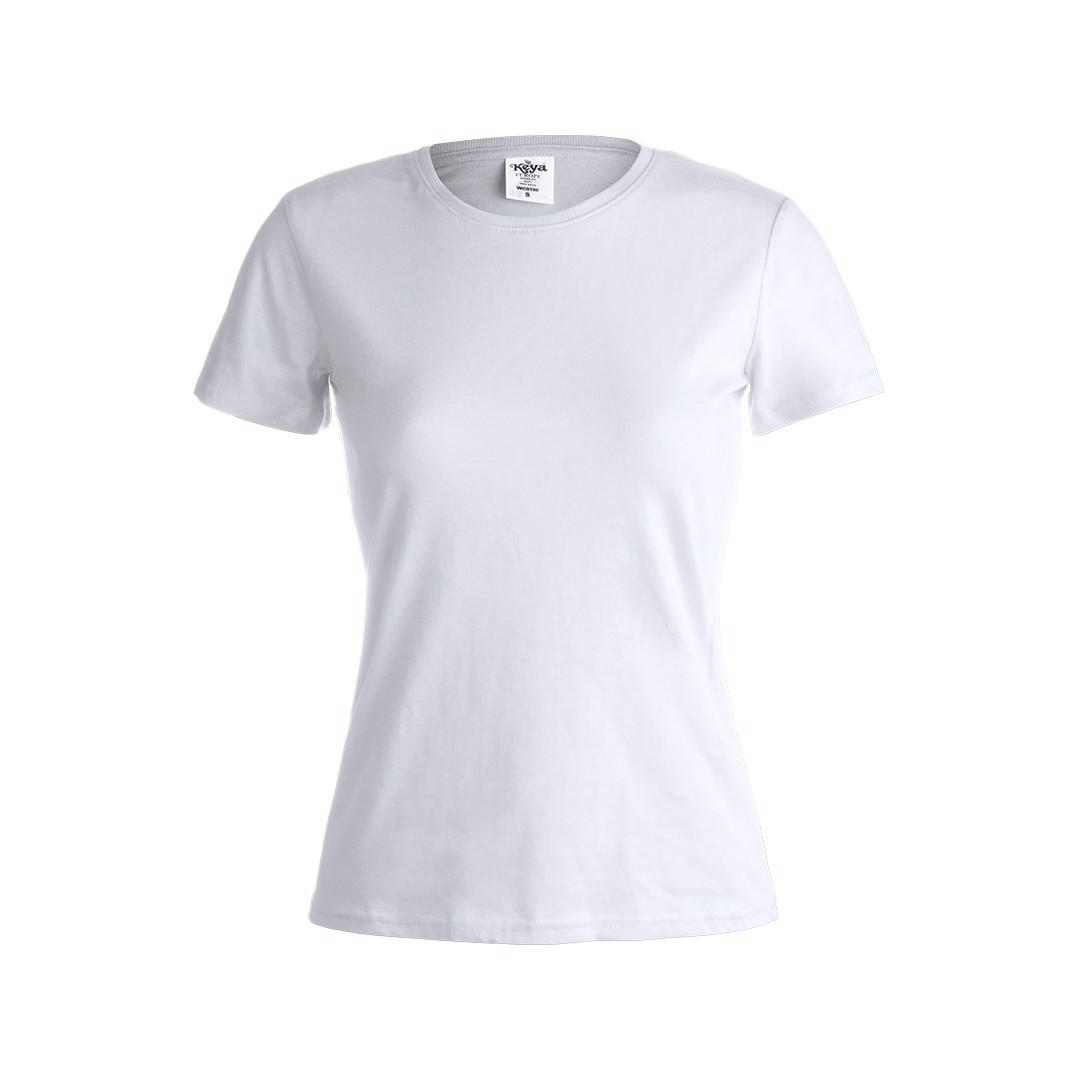 "Camiseta Mujer Blanca ""keya"" WCS150 - Blanco / S"