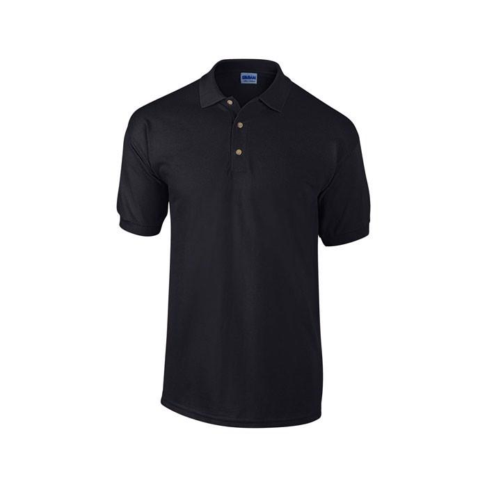 Unisex Polo Shirt 240 g/m2 Heavy Pique Polo 3800 - Black / L