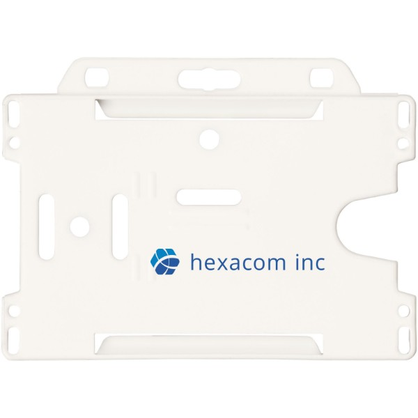 Vega Kartenhalter aus Kunststoff - Weiss
