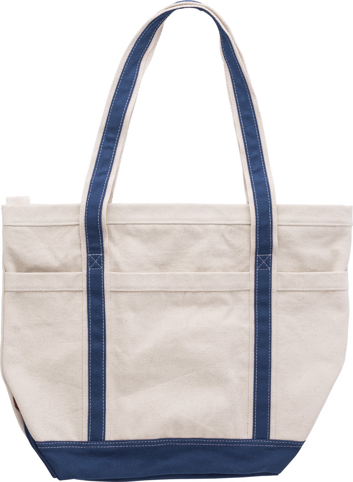 Cotton (500 gr/m²) shopping bag - Blue
