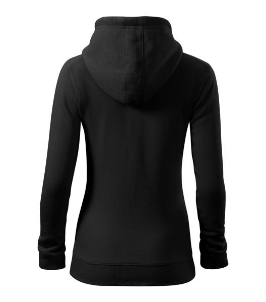 Sweatshirt women's Malfini Trendy Zipper - Black / XS