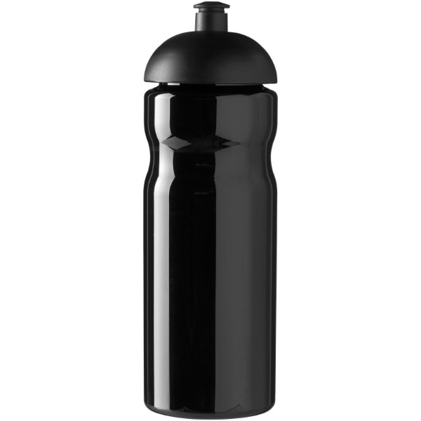 Sportovní láhev s kupolovitým víčkem H2O Base® 650 ml - Černá