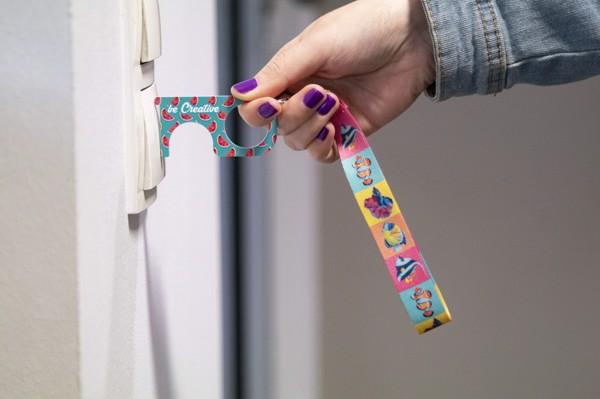 Hygiene Key NoTouch Wrist Plus - White