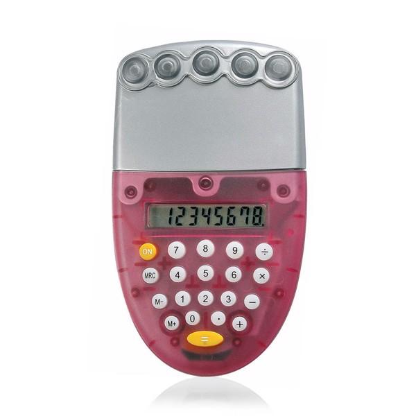 Calculatrice Ozone - Rouge