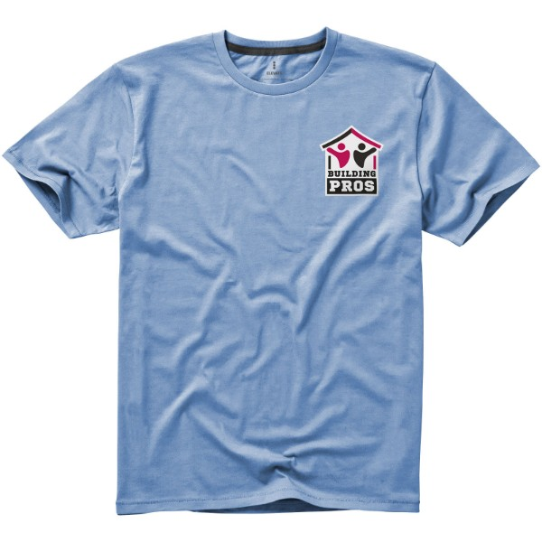 Nanaimo short sleeve men's t-shirt - Light blue / XL