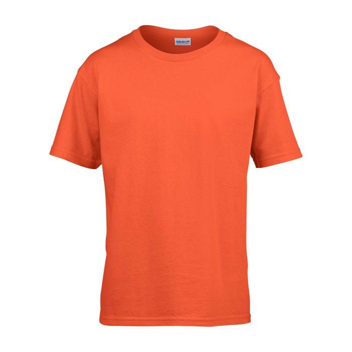 Kids t-shirt 150 g/m² Kids Ring Spun T-Shirt 64000B - Orange / XL