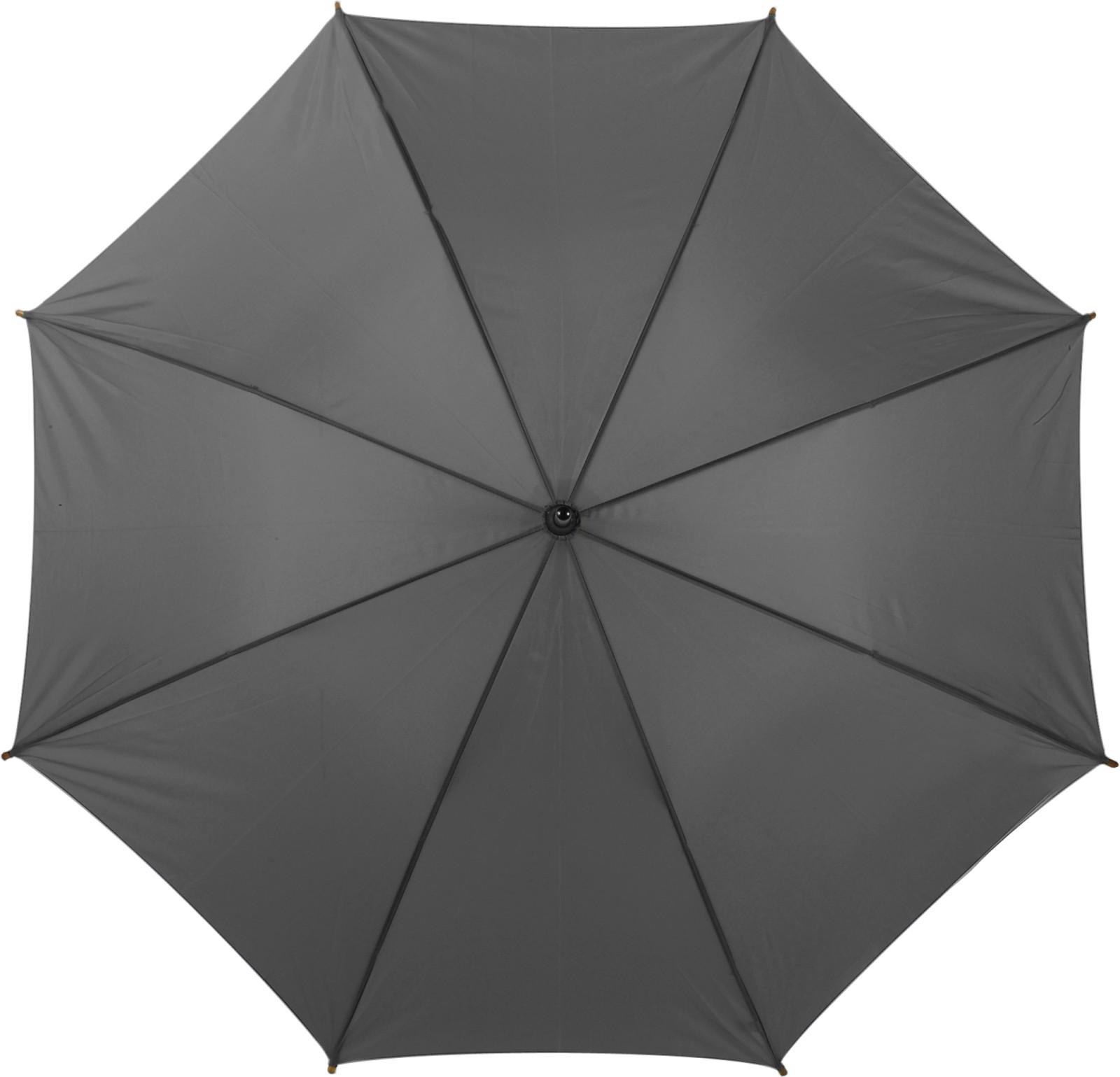 Polyester (190T) umbrella - Grey