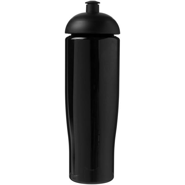 Sportovní láhev s kupolovitým víčkem H2O Tempo® 700 ml - Černá
